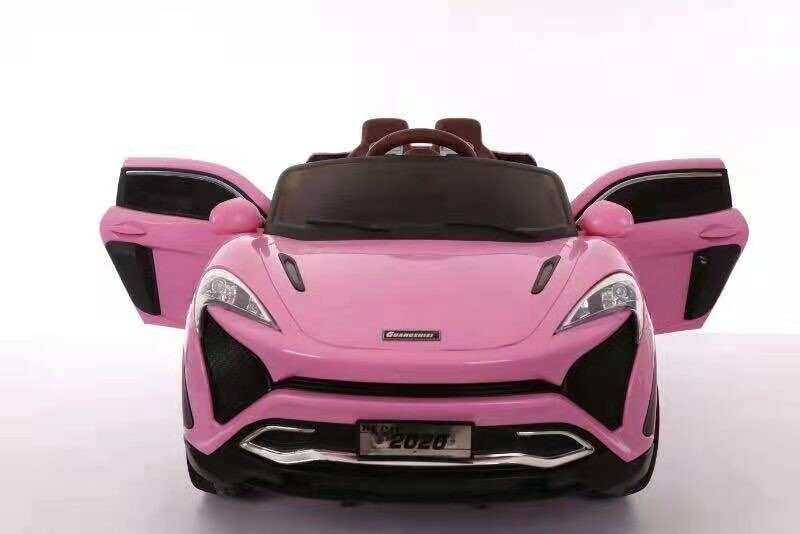 Pink kids electric ride on toy car