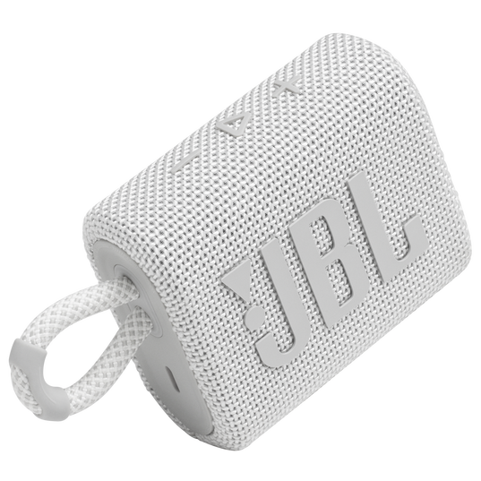 Jbl Go 3 Portable Speaker With Bluetooth - White