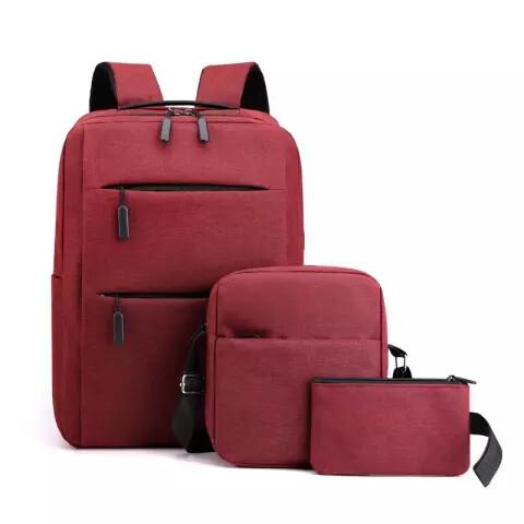 Omasaka travel laptop backpack - Red