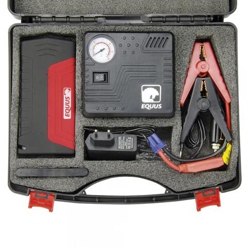 Lithium ion battery 50800mah portable high power car jump starter and air pump
