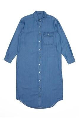 LONG shirt denim DENHAM