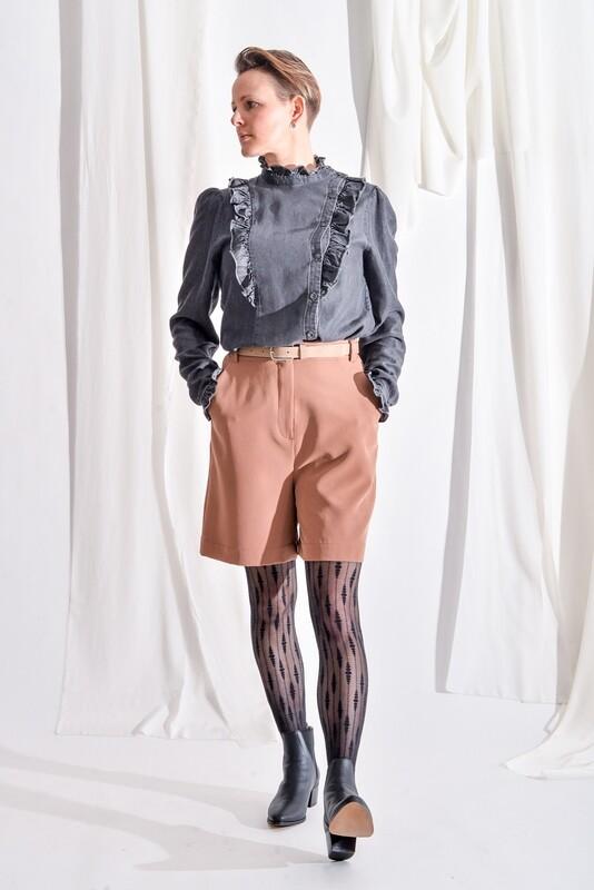 Shorts zimtbraun