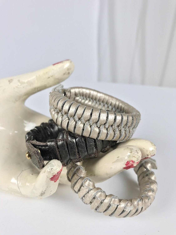 Armband schmal geflochten