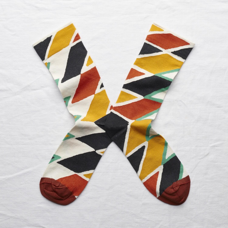 Socken Zigzag