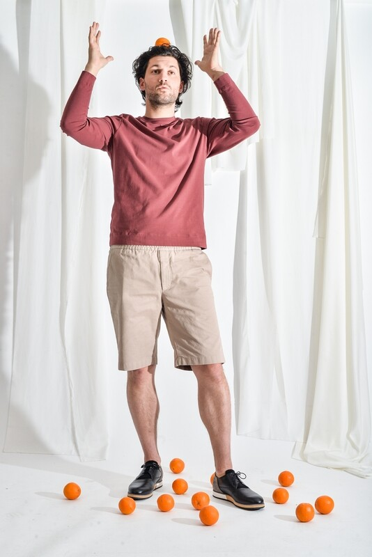 Shorts sandbeige