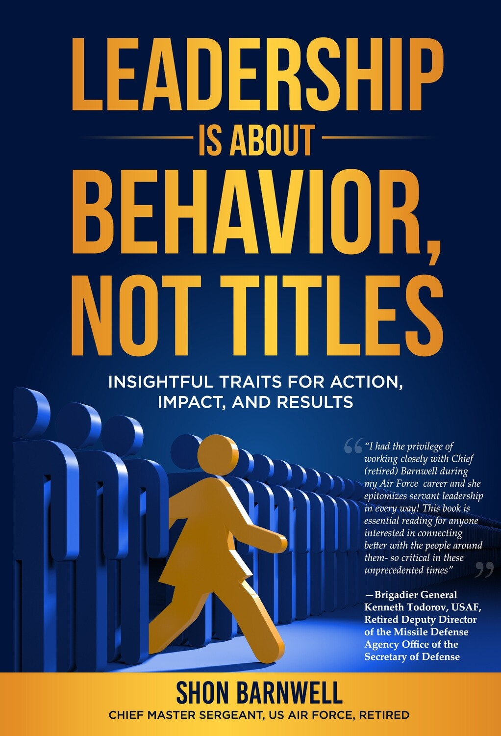 #1 - HB -- Leadership Is About Behavior, Not Titles