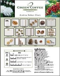 "Non-Member - 11"" x 14"" and Poster - Arabica Defect Charts"