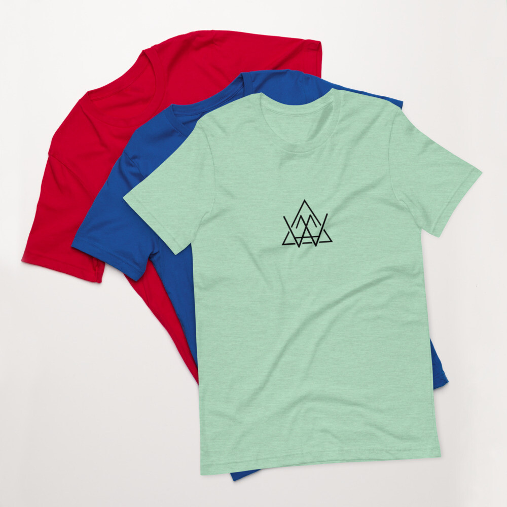 Short-Sleeve Unisex T-Shirt - AWM Logo