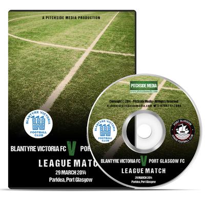 Blantyre Victoria FC v Port Glasgow