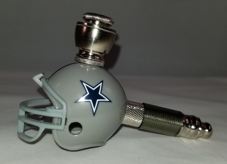 DALLAS COWBOYS NFL FOOTBALL HELMET SMOKING PIPE POCKET MINI