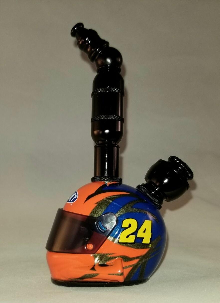 "JEFF GORDON #24 NASCAR DRIVER HELMET SMOKING PIPE ""BAD ASS"""