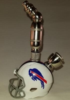 BUFFALO BILLS NFL FOOTBALL HELMET SMOKING PIPE Upright/Nickel