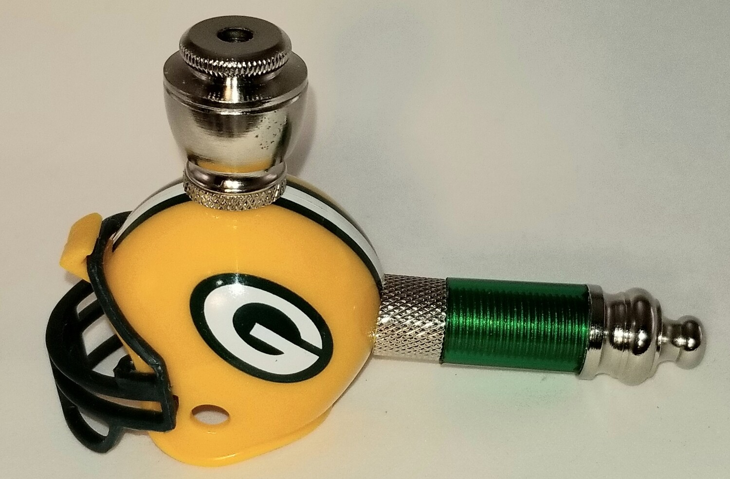 GREEN BAY PACKERS NFL FOOTBALL HELMET SMOKING PIPE Mini/Nickel