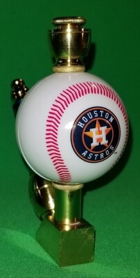 HOUSTON ASTROS BASEBALL PIPE Wedge/Brass