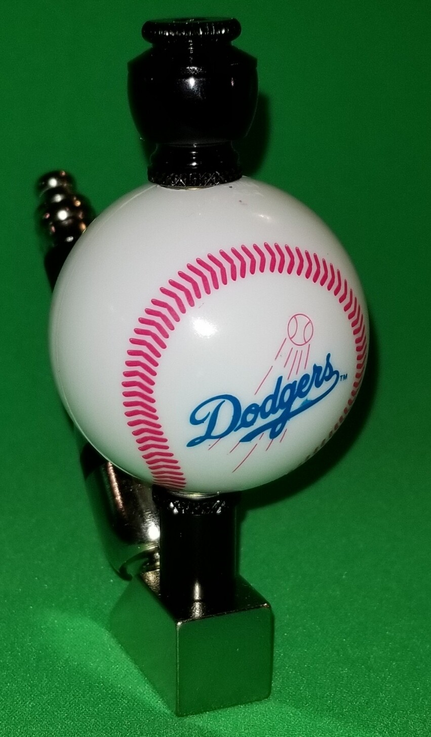 """LOS ANGELES DODGERS """"BAD ASS"""" BASEBALL PIPE Wedge/Nickel/Black Anodized"""