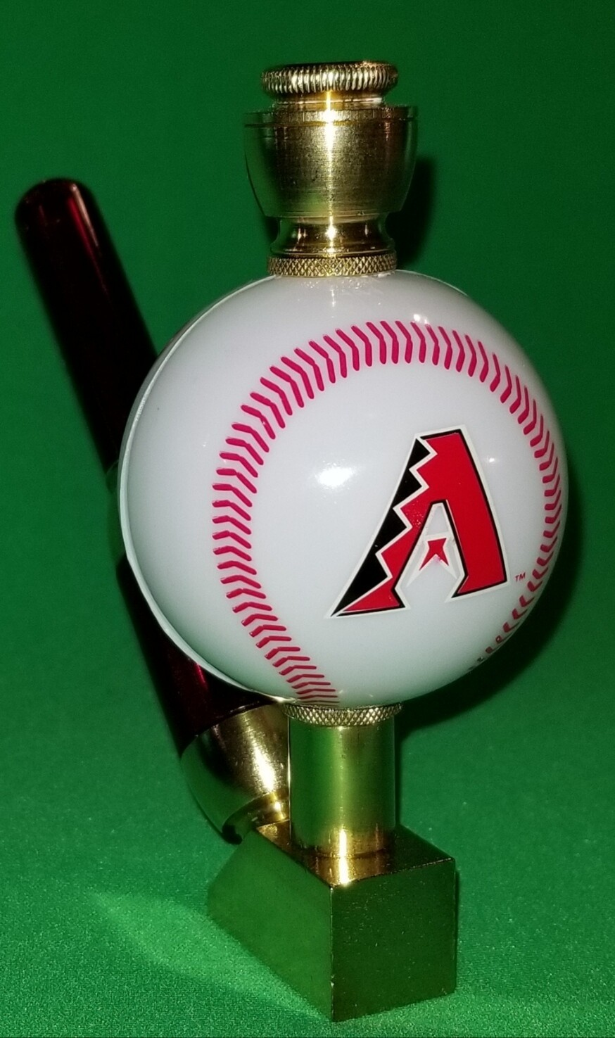 ARIZONA DIAMONDBACKS BASEBALL PIPE Wedge/Brass
