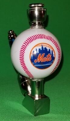 NEW YORK METS BASEBALL SMOKING PIPE Wedge/Nickel