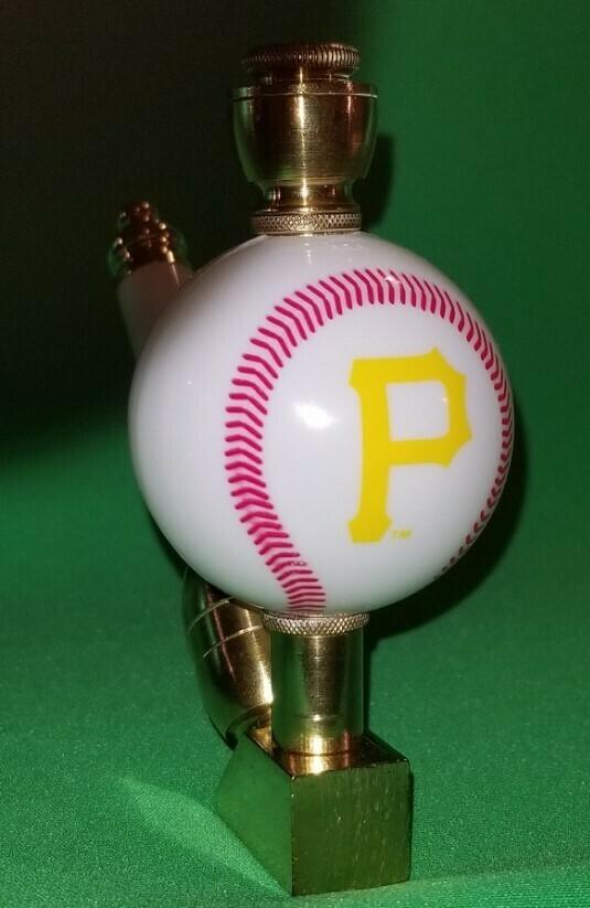 PITTSBURGH PIRATES BASEBALL PIPE Wedge/Brass