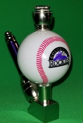 COLORADO ROCKIES BASEBALL PIPE Wedge/Nickel