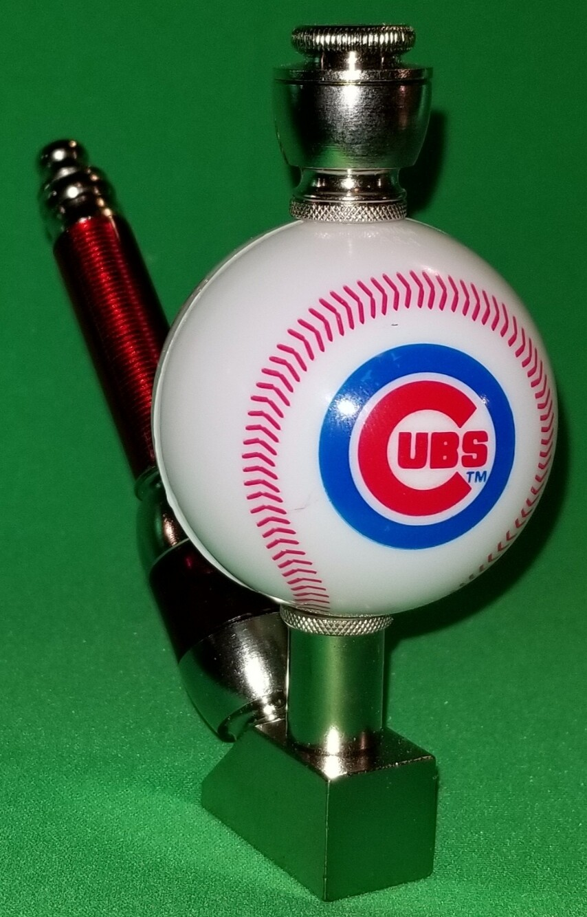 CHICAGO CUBS BASEBALL PIPE Wedge/Nickel/White