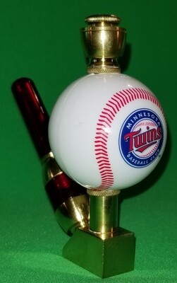 MINNESOTA TWINS BASEBALL PIPE Wedge/Brass