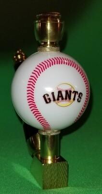 SAN FRANCISCO GIANTS BASEBALL PIPE Wedge/Brass