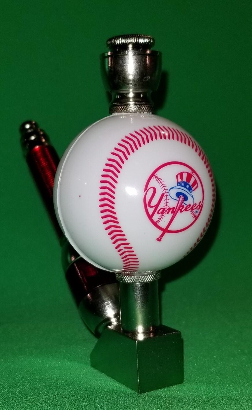 NEW YORK YANKEES BASEBALL PIPE Wedge/Nickel/White