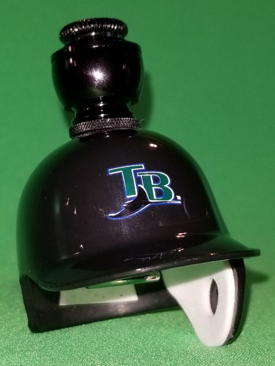 """TAMPA BAY RAYS """"BAD ASS"""" BASEBALL PIPE Straight/Black Anodized"""