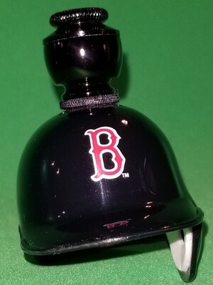 """BOSTON RED SOX """"BAD ASS"""" BASEBALL PIPE Straight/Black Anodized"""