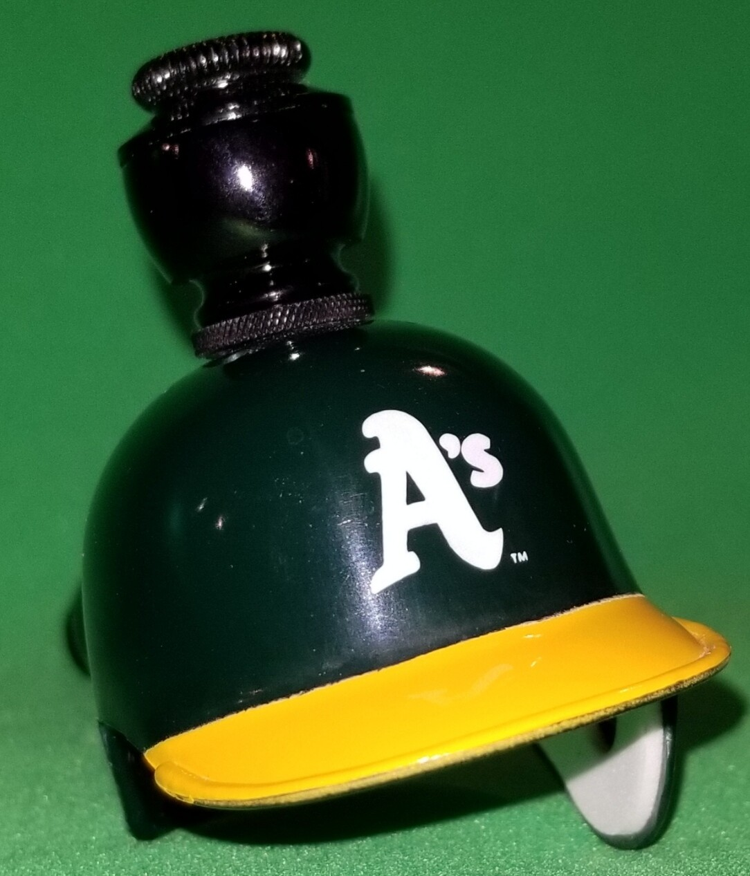 """OAKLAND A's """"BAD ASS"""" BASEBALL PIPE Straight/Black Anodized"""