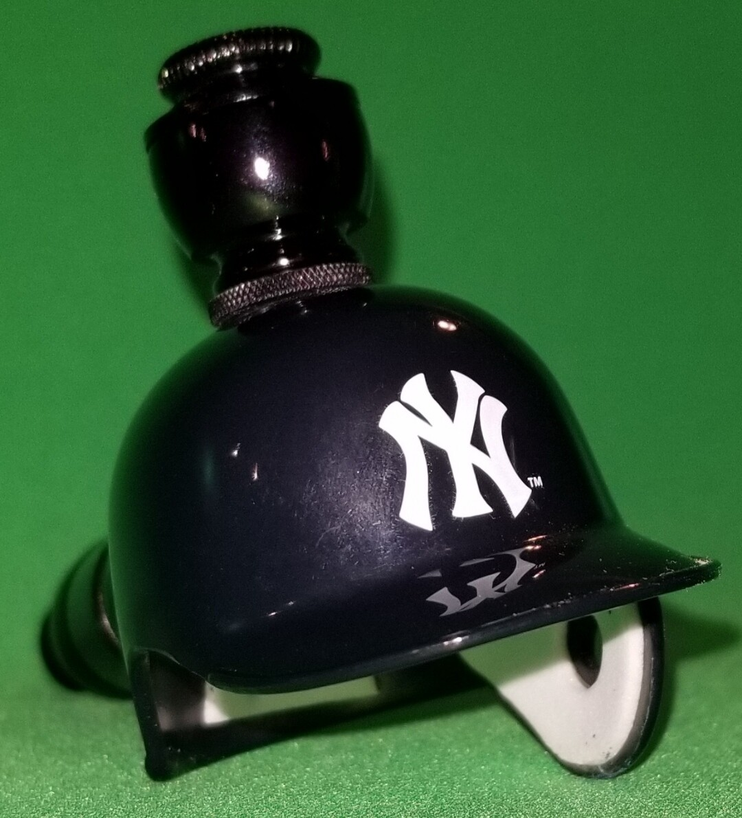 "NEW YORK YANKEE'S BAD ASS"" BASEBALL PIPE Straight/Black Anodized"