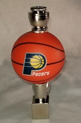 INDIANA PACERS BASKETBALL SMOKING PIPES Wedge/Nickel/Black Anodized