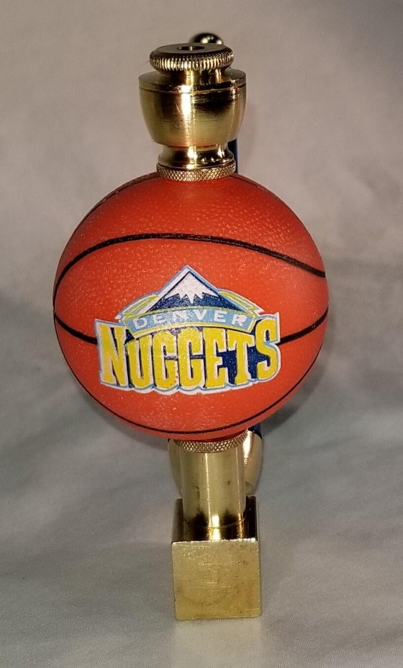 DENVER NUGGETS BASKETBALL SMOKING PIPE Wedge/Brass