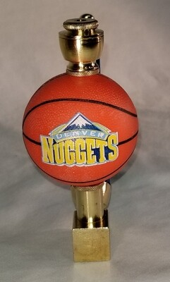 DENVER NUGGETS BASKETBALL SMOKING PIPE Wedge/Brass