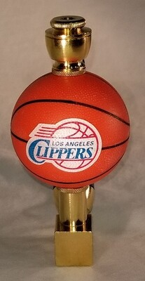 LOS ANGELES CLIPPERS BASKETBALL SMOKING PIPE Wedge/Brass