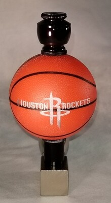 HOUSTON ROCKETS BASKETBALL SMOKING PIPES Wedge/Nickel/Black Anodized