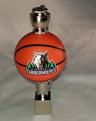 MINNISOTA TIMBERWOLVES BASKETBALL SMOKING PIPE Wedge/Nickel/