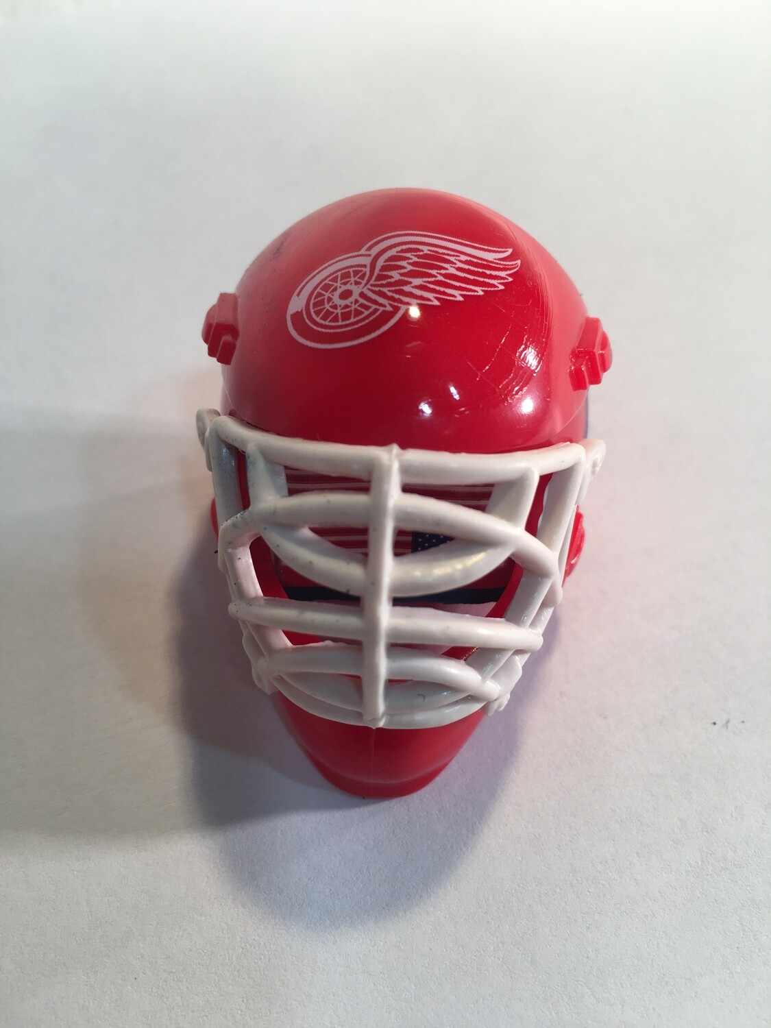 DETROIT REDWINGS HOCKEY GOALIE MASK/HELMET CHALKER