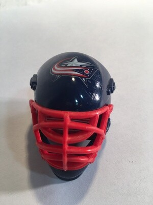 COLUMBUS BLUE JACKETS HOCKEY GOALIE MASK/HELMET CHALKER