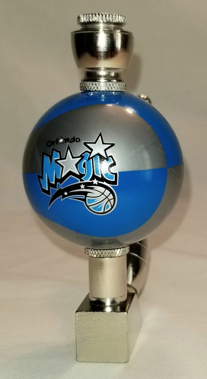 ORLANDO MAGIC COLOR BASKETBALL SMOKING PIPE Wedge/Nickel