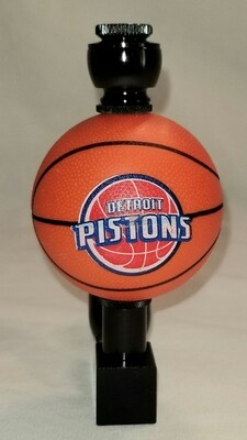 """DETROIT PISTONS """"BAD ASS"""" BASKETBALL SMOKING PIPE Wedge/Black Anodized"""