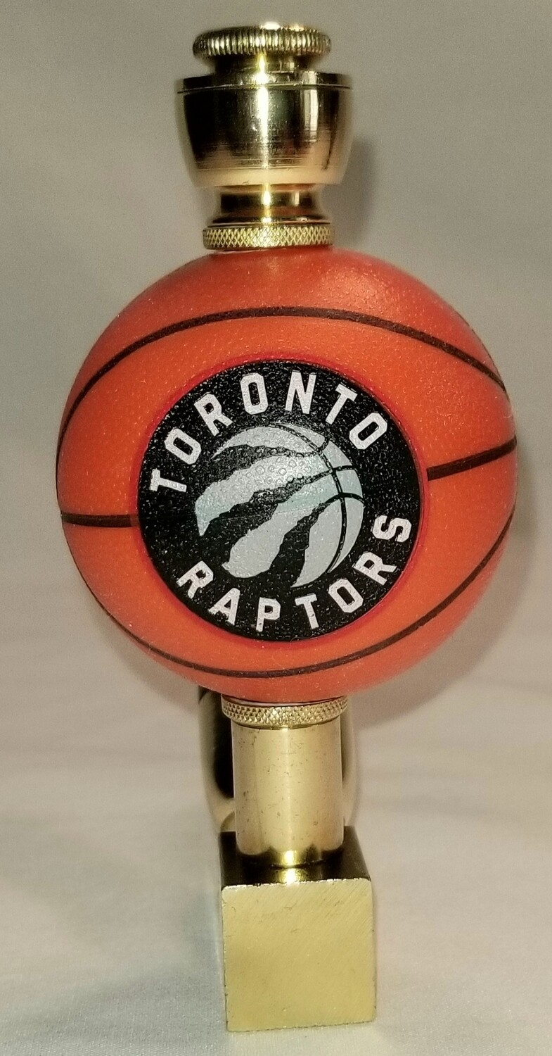 TORONTO RAPTORS BASKETBALL SMOKING PIPE Wedge/Brass