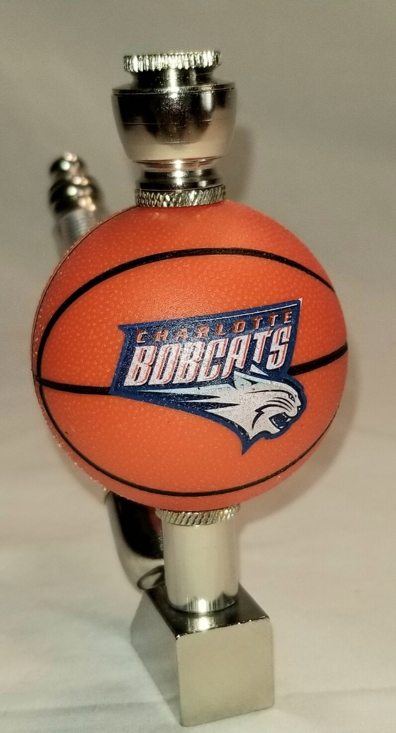 CHARLOTTE BOBCATS BASKETBALL SMOKING PIPE Wedge/Nickel/Old School