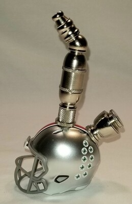 OHIO STATE BUCKEYES FOOTBALL HELMET SMOKING PIPE Upright/Nickel