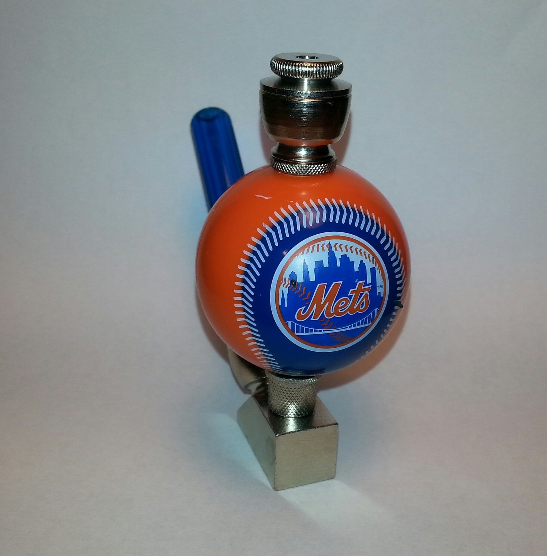 New York Mets  Baseball Pipe Wedge Design Brass Finish