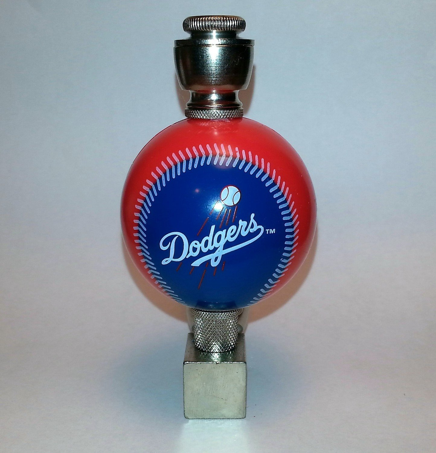 Los Angeles Dodgers MLB Baseball Pipe Wedge Design