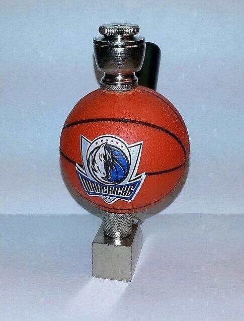 Dallas Mavericks NBA Basketball Pipe Wedge Design Nickel Finish