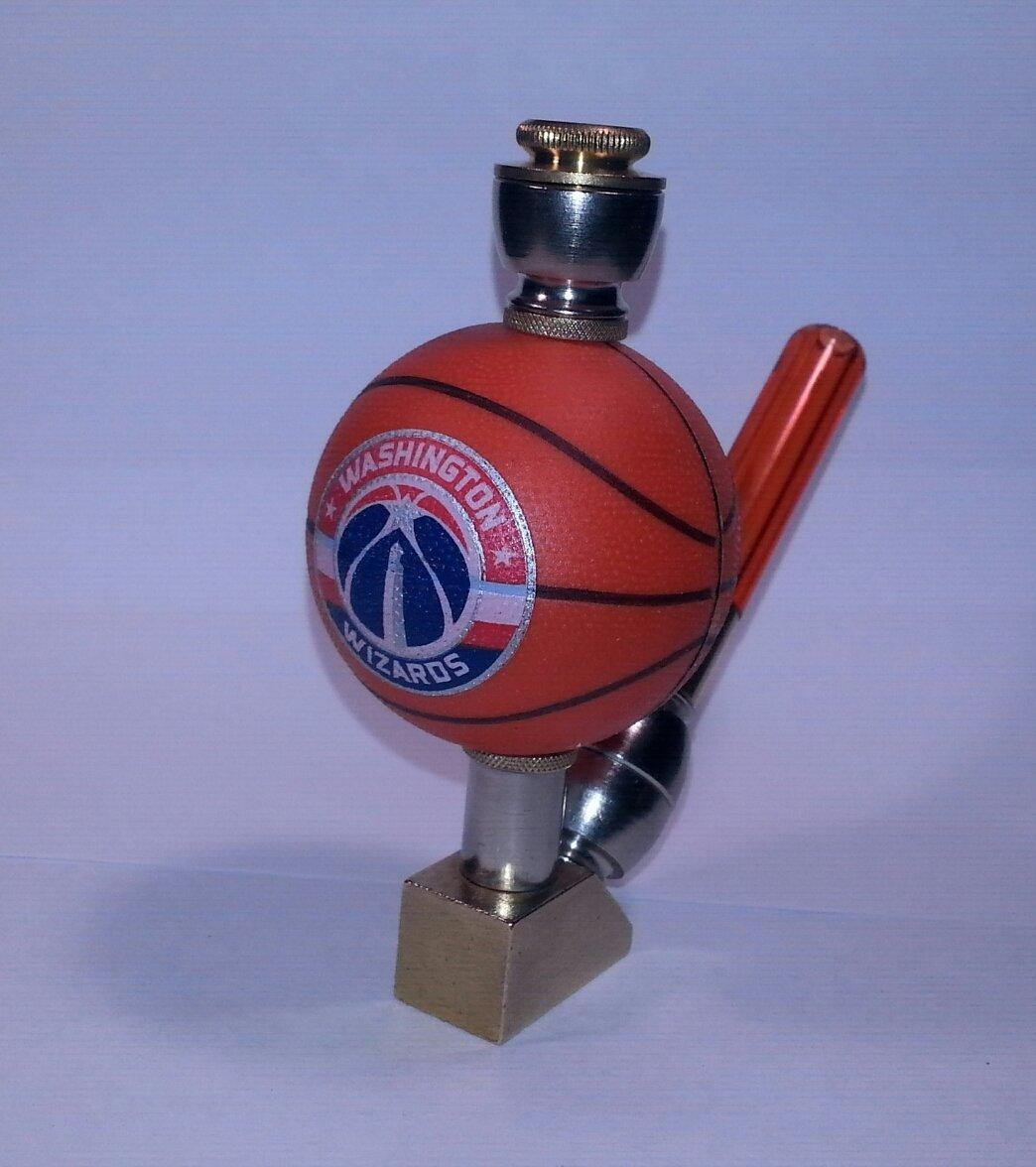Washington Wizards  NBA Basketball Pipe Wedge Design Nickel/Brass Finish