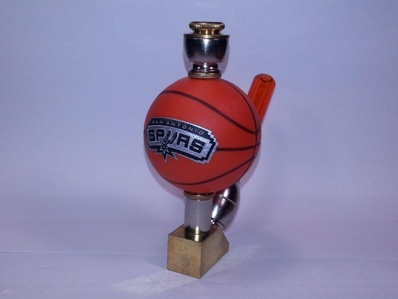 San Antonio Spurs NBA Basketball Pipe Wedge Design Nickel/Brass Finish