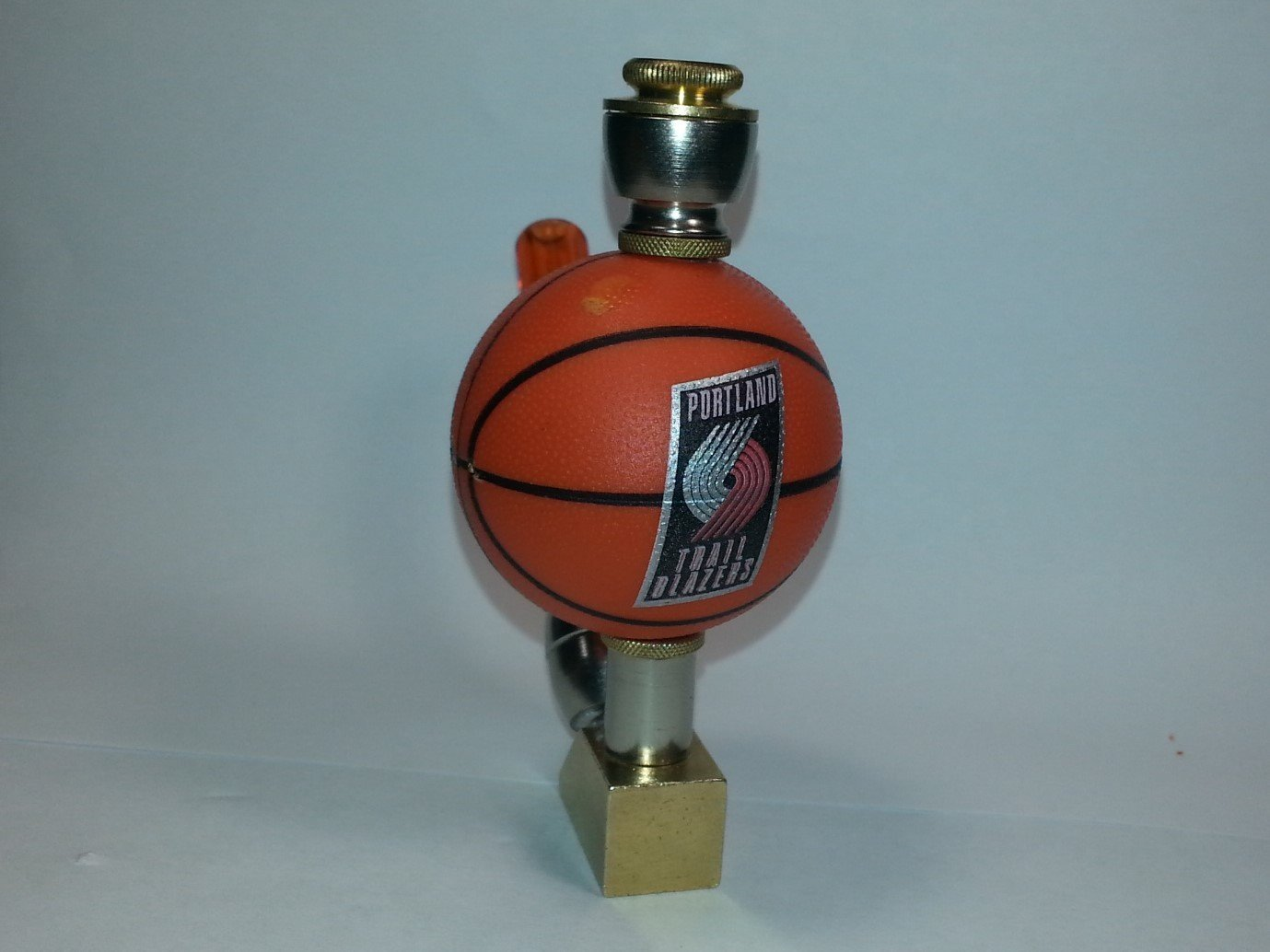 Portland Trail Blazers NBA Basketball Pipe Wedge Design Nickel/Brass Finish